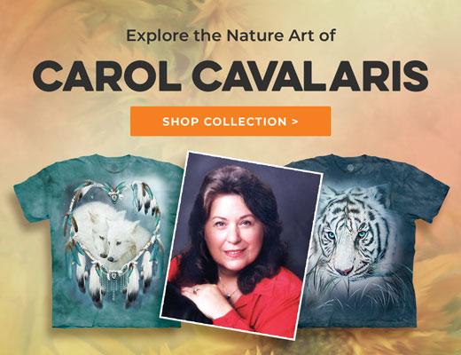 Shop Nature T-Shirts by Carol Cavalaris