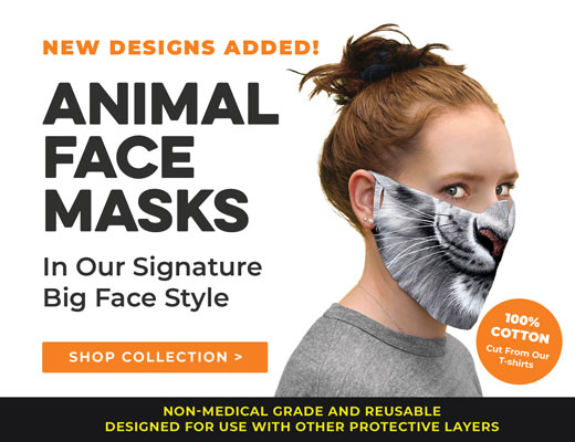 The Mountain Face Masks