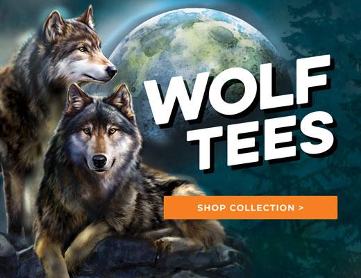 Shop Wolf T Shirts