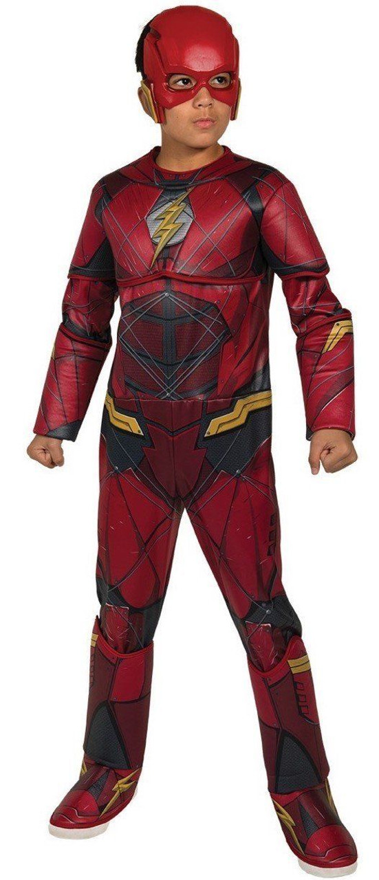 40683fc78d67 Rubies Dc Comics Flash Deluxe Muscle Chest Child Boys Halloween Costume  630977