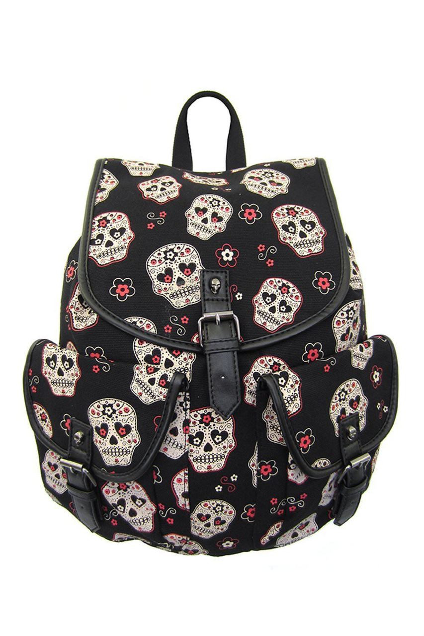 Lost Queen Sugar Skull Day of the Dead Gothic