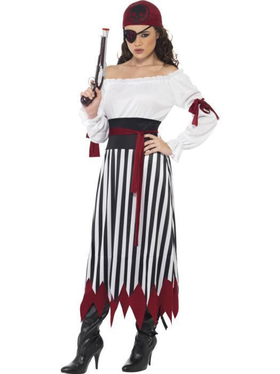 Smiffys Womens Pirate Wench Costume