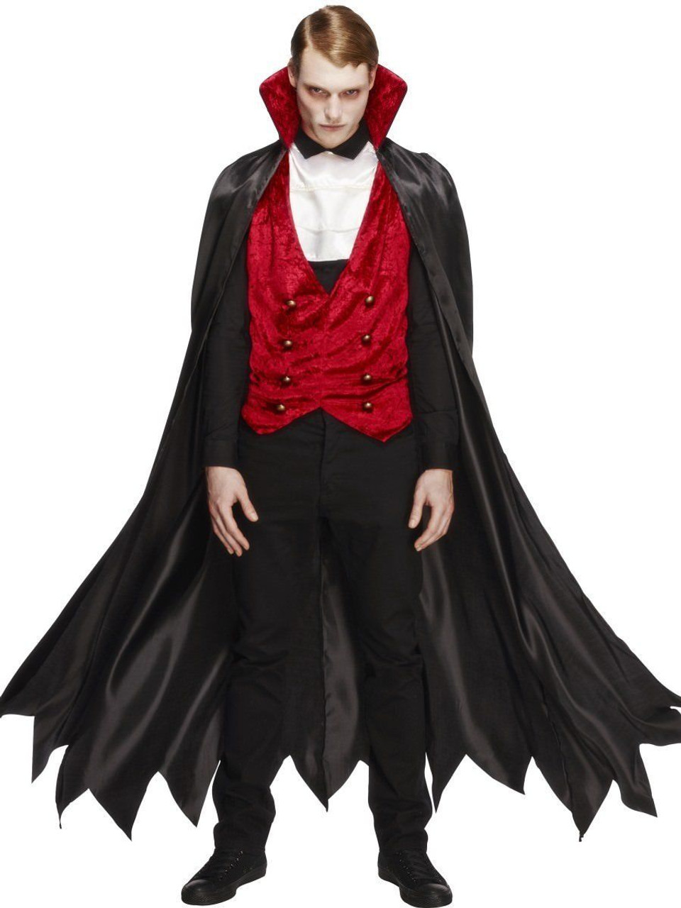 0a41cf5905dc Fever Vampire Gothic Horror Blood Sucker Adult Mens Halloween Costume 29991