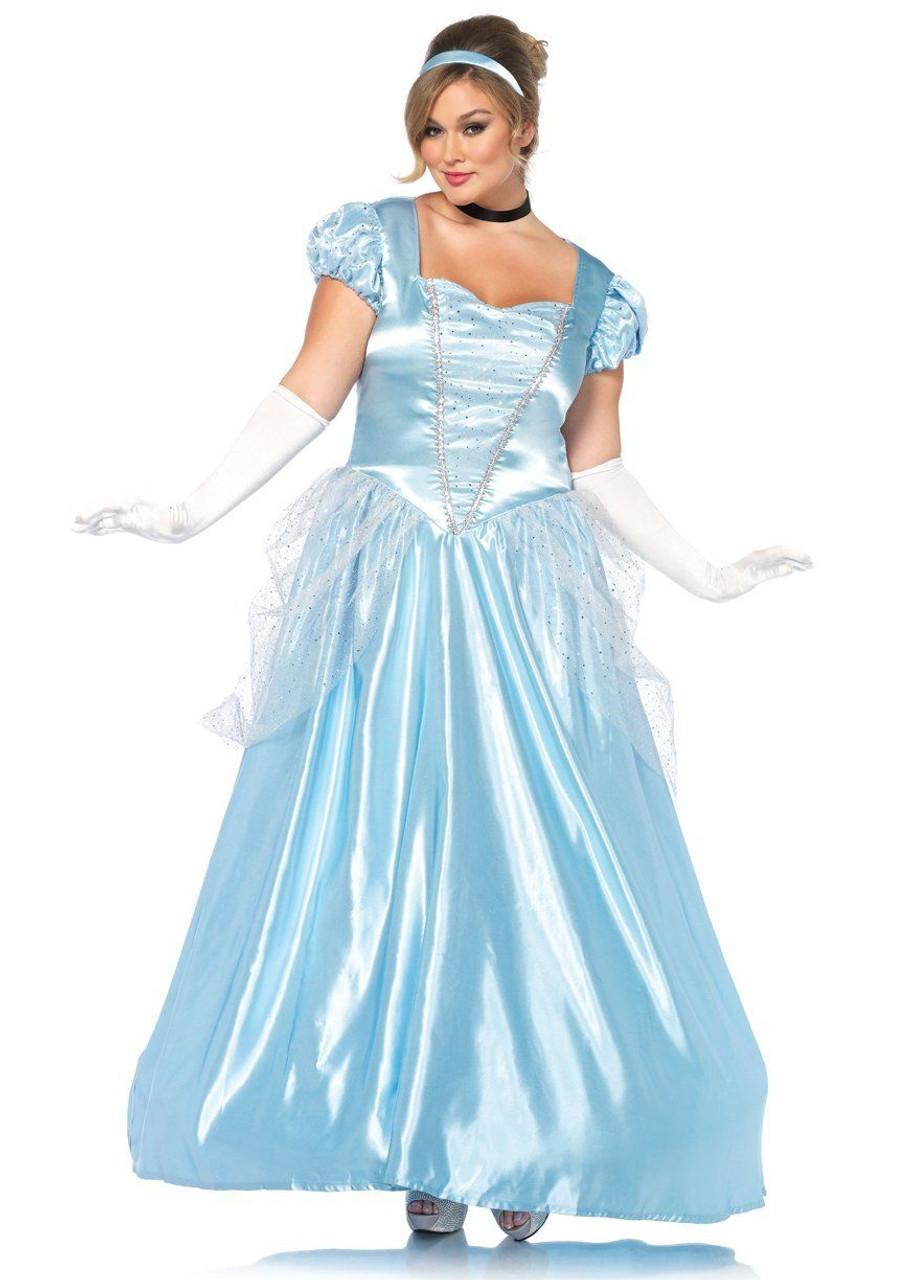 Halloween Costume 500.Leg Avenue Classic Cinderella Adult Womens Plus Size Halloween Costume 85518x