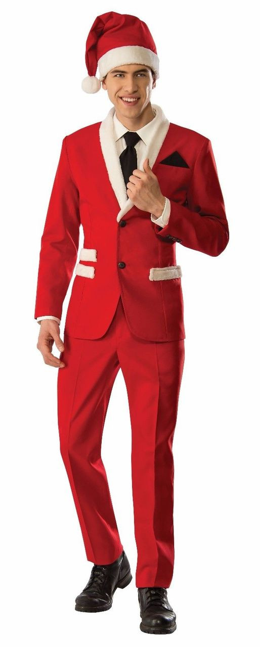 Christmas Suit.Rubies Santa Claus Tuxedo Suit Holiday Xmas Adult Mens Christmas Costume 810671
