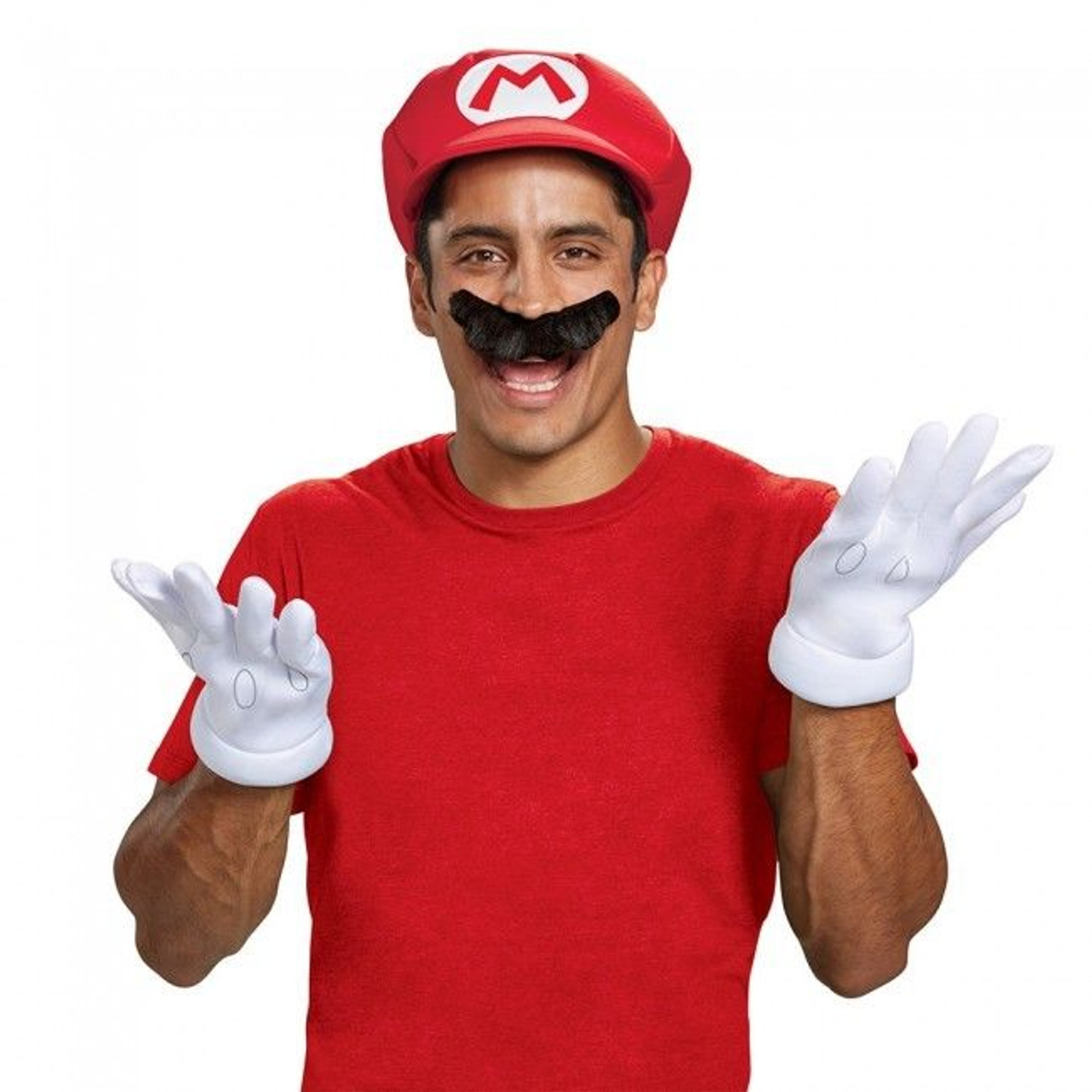Mario Adult Costume Accessory Kit Super Mario Brothers