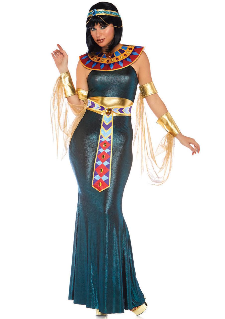 leg avenue egyptian cleopatra nile goddess adult women's halloween