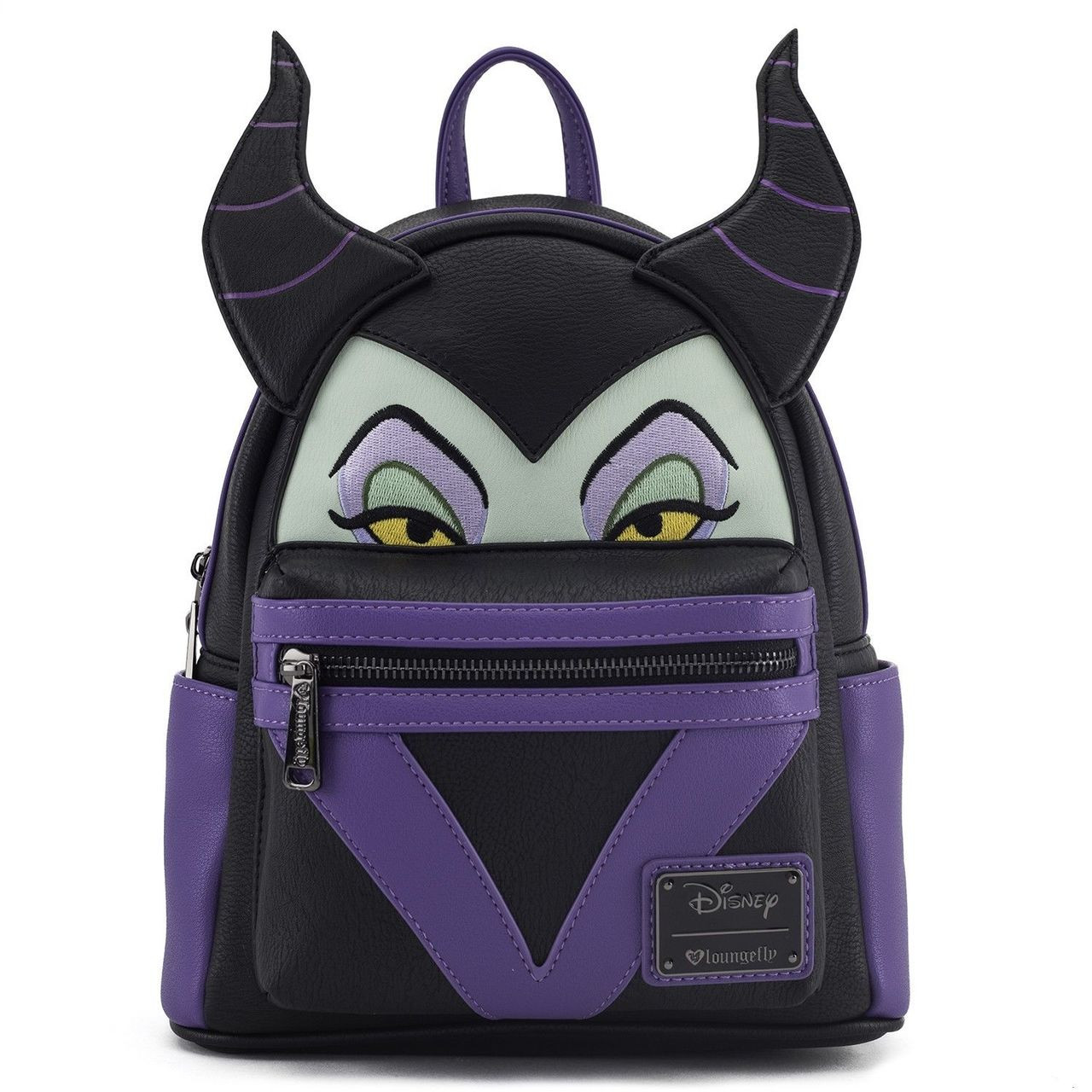 Loungefly Disney Sleeping Beauty Maleficent Faux Leather Mini Backpack  WDBK0409 048b216d39844