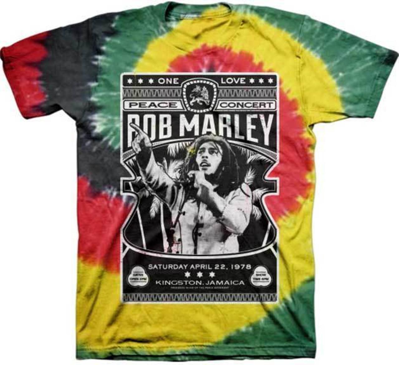 Island Juniors T-Shirt Bob Marley
