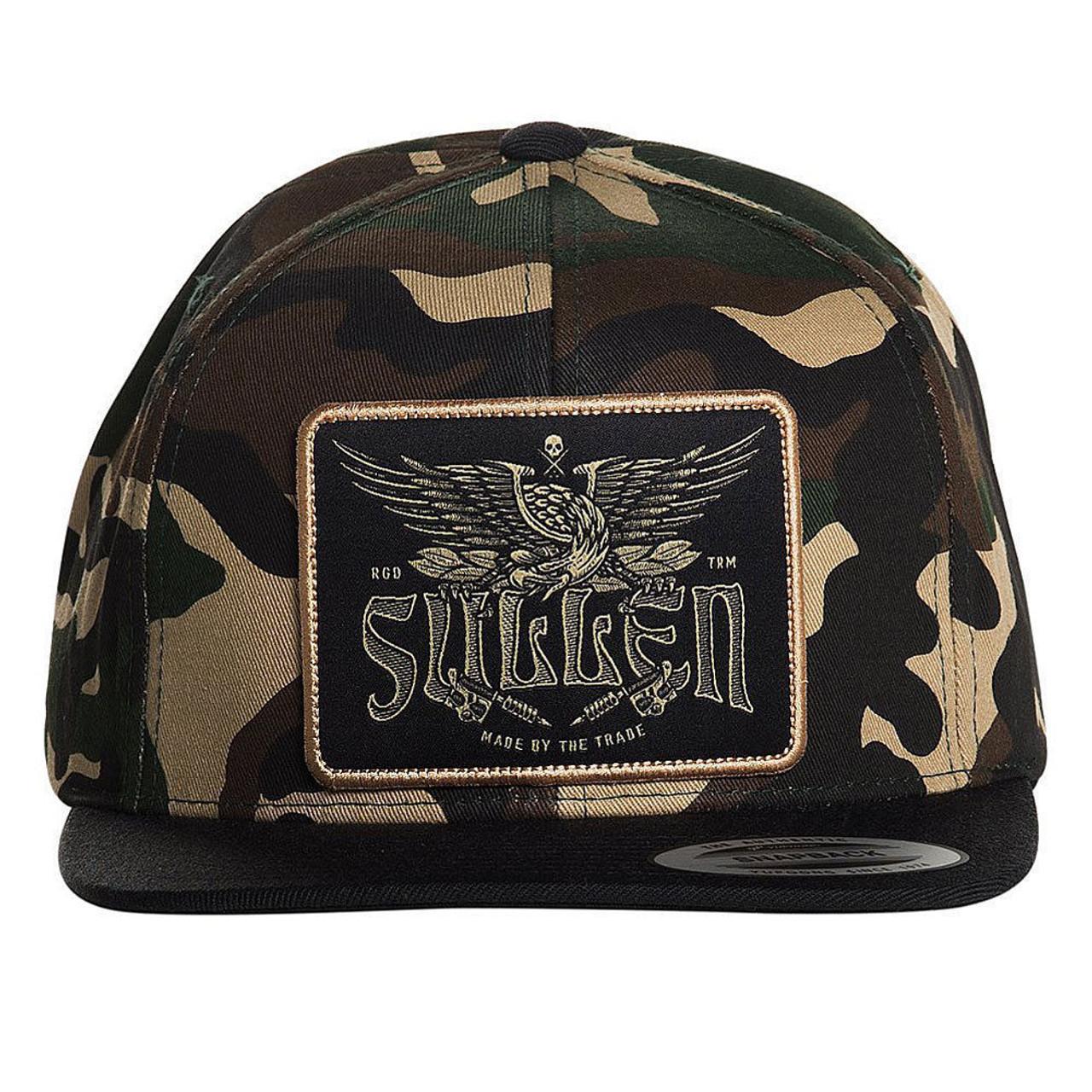 77e7c49d Sullen Clothing Eagle Tradition Urban Camouflage Snapback Cap Hat  SCA2003-CAMO