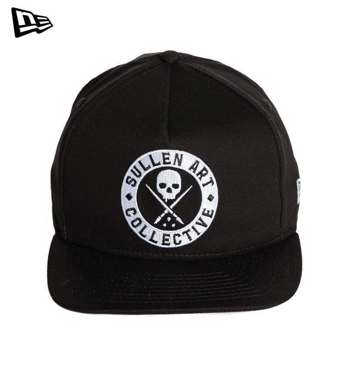 1f5014b459c24 Sullen Clothing New Era Staple Badge Logo Tattoos Art Snapback Cap Hat  SCA1809 - Fearless Apparel