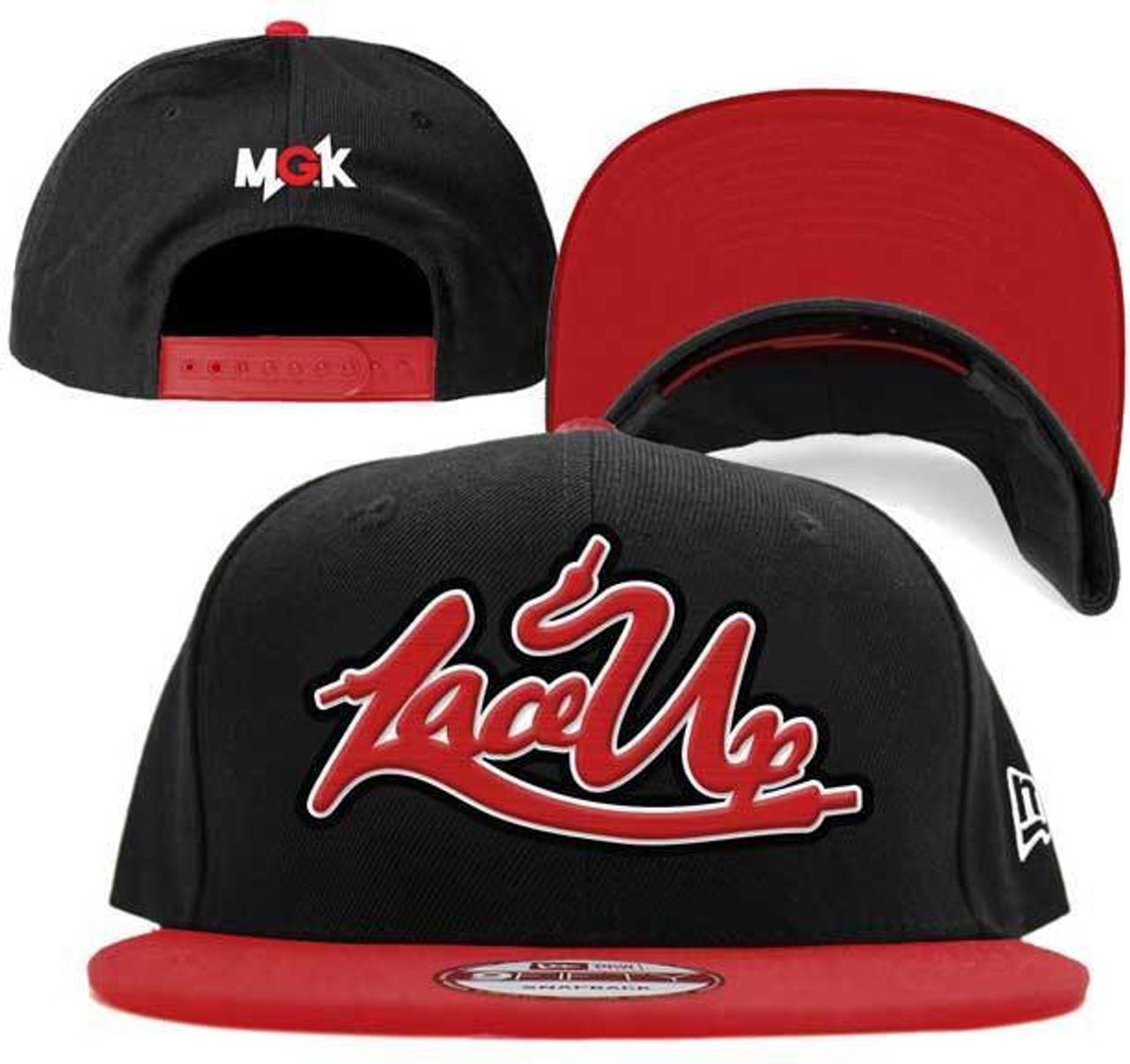 664ce860bff63 MGK Machine Gun Kelly Lace Up Hip Hop Rap Snapback Baseball Cap Hat  3398101H00 - Fearless Apparel