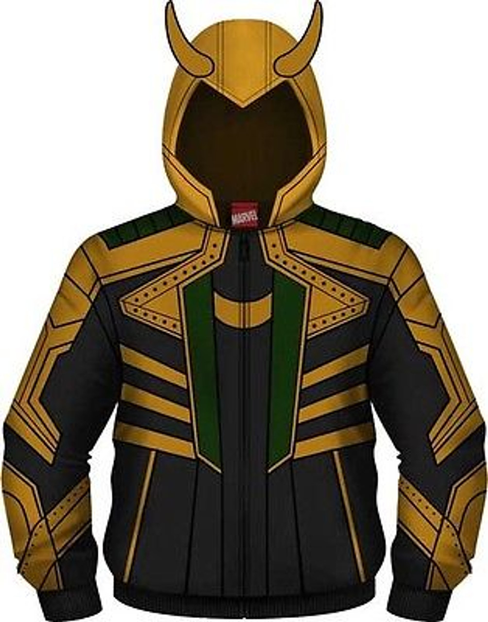 2ee07250 Authentic I Am Loki Marvel Comics Thor Cosplay Costume Hoodie Sweat Shirt  S-2Xl