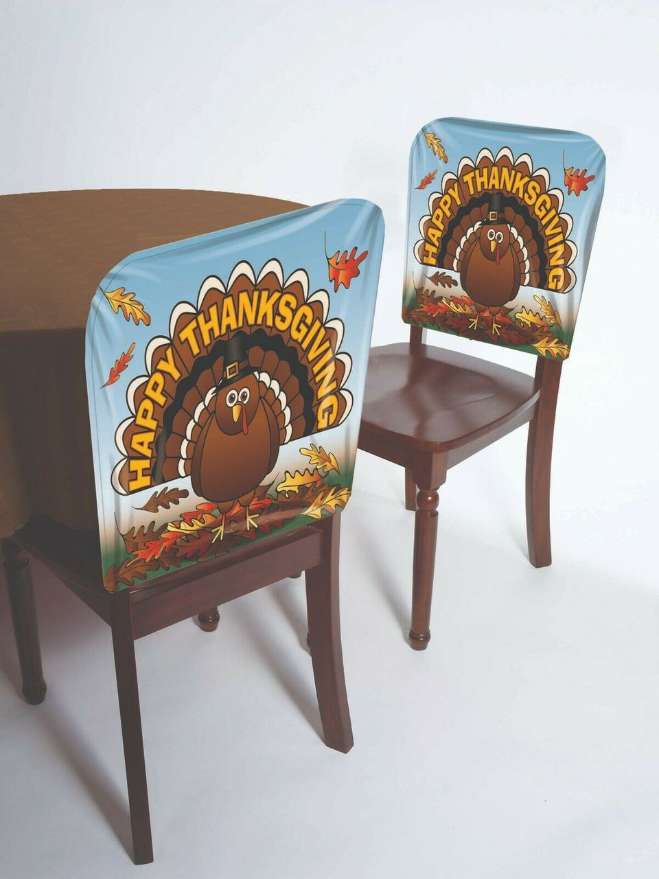 Strange Forum Novelties Thanksgiving Turkey Vinyl Chair Covers Holiday Decorations 76117 Caraccident5 Cool Chair Designs And Ideas Caraccident5Info