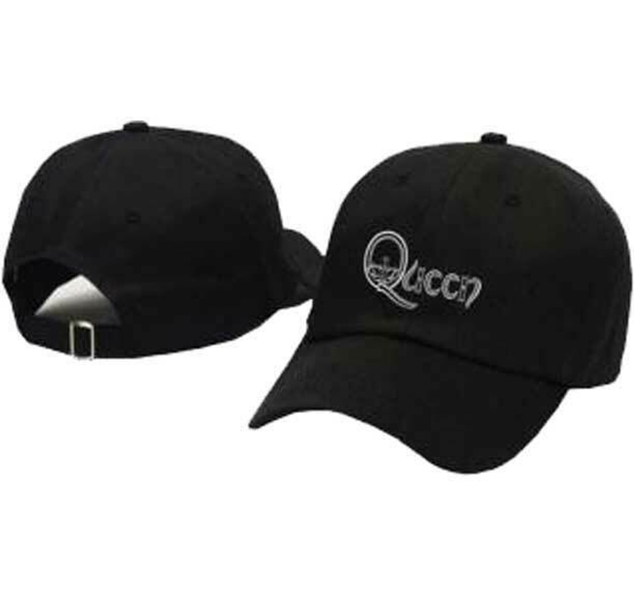 09028fc774b2c Queen Crown Logo Classic Rock n Roll Band Music Baseball Dad Hat Cap  3277101H00 - Fearless Apparel