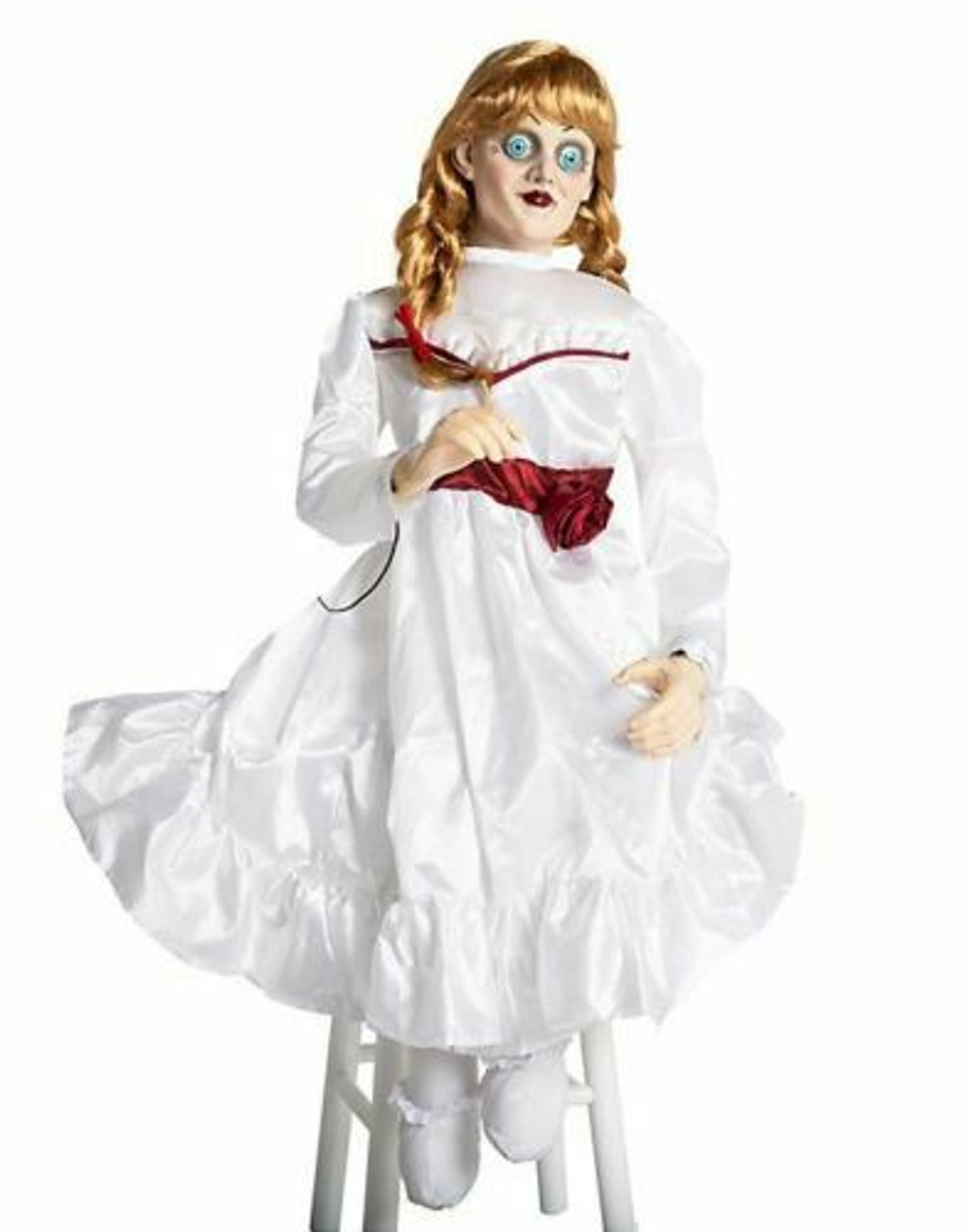Morbid Enterprises Animated Annabelle Creation Doll 3FT Halloween Prop  M38231