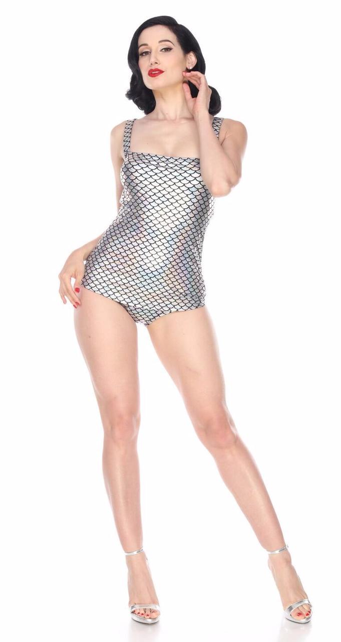 Esther Williams Million Dollar Mermaid Swimsuit Sheath Pinup 1 Piece Swim E02148