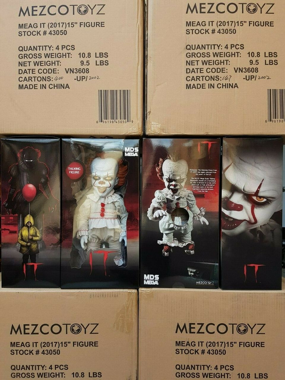 "Mega Scale Talking The Exorcist 15/"" with Sound Feature Action Figure Mezco Toyz"