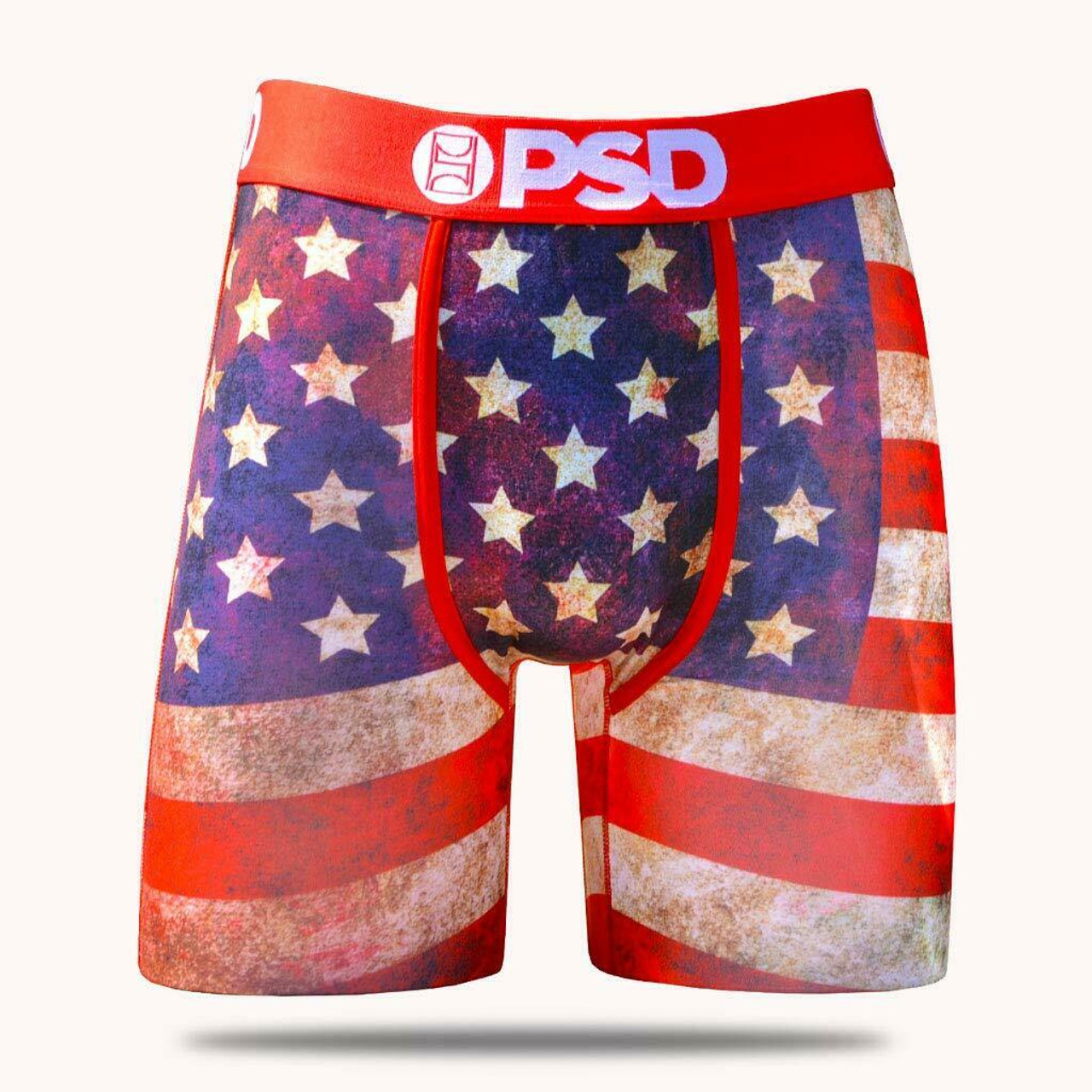 0a3bbbf9bbd PSD America 19 USA Flag 4th of July Patriotic Boxer Briefs Underwear  E11911060 - Fearless Apparel
