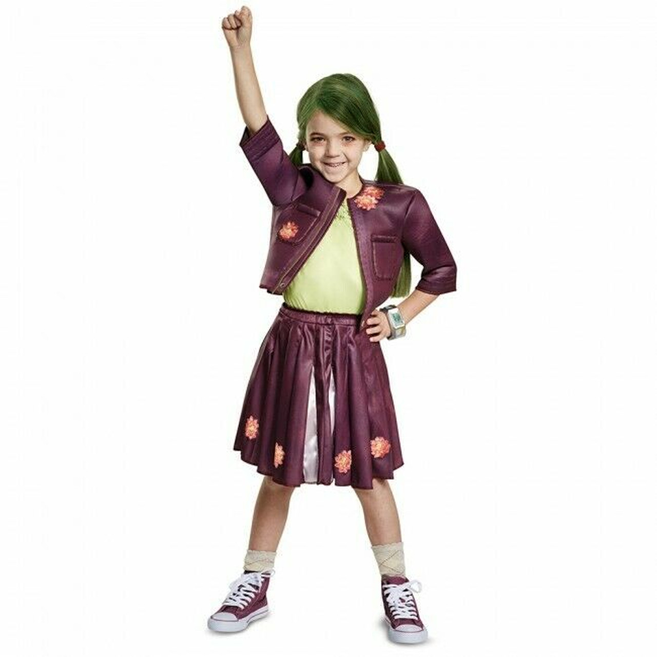 Disguise Disney Zombies Zoey Cheerleader Outfit Childs Halloween Costume 17039