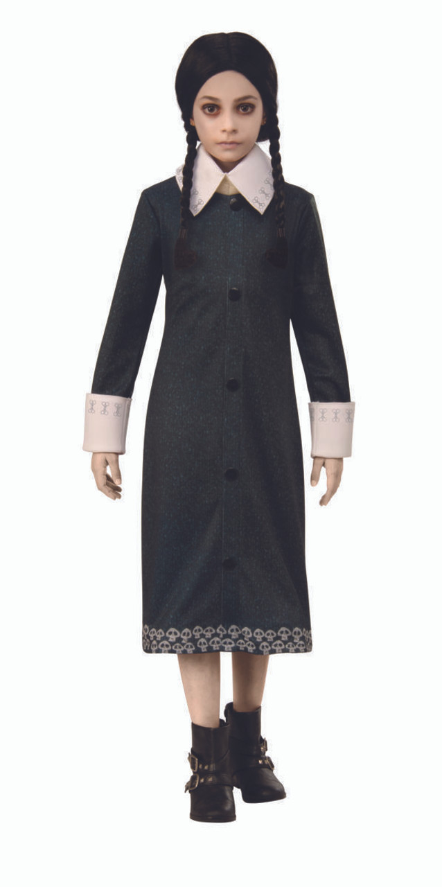 Wednesday Addams The Addams Family Child Female Costume