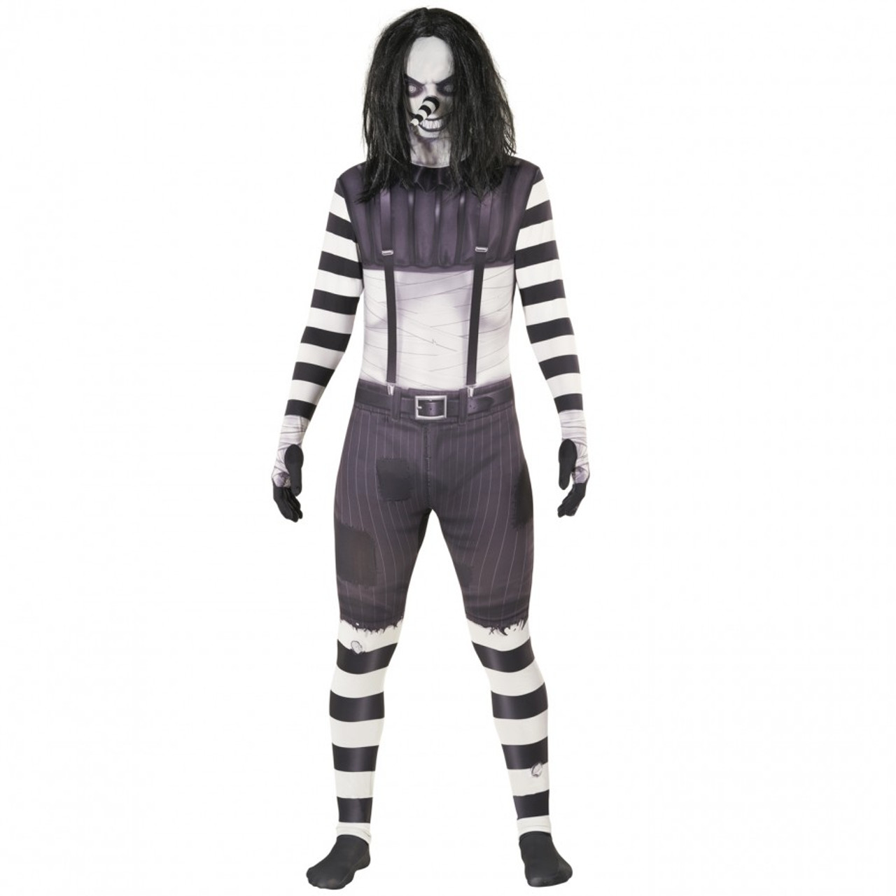 Jeff The Killer Morphsuit Mens Costume