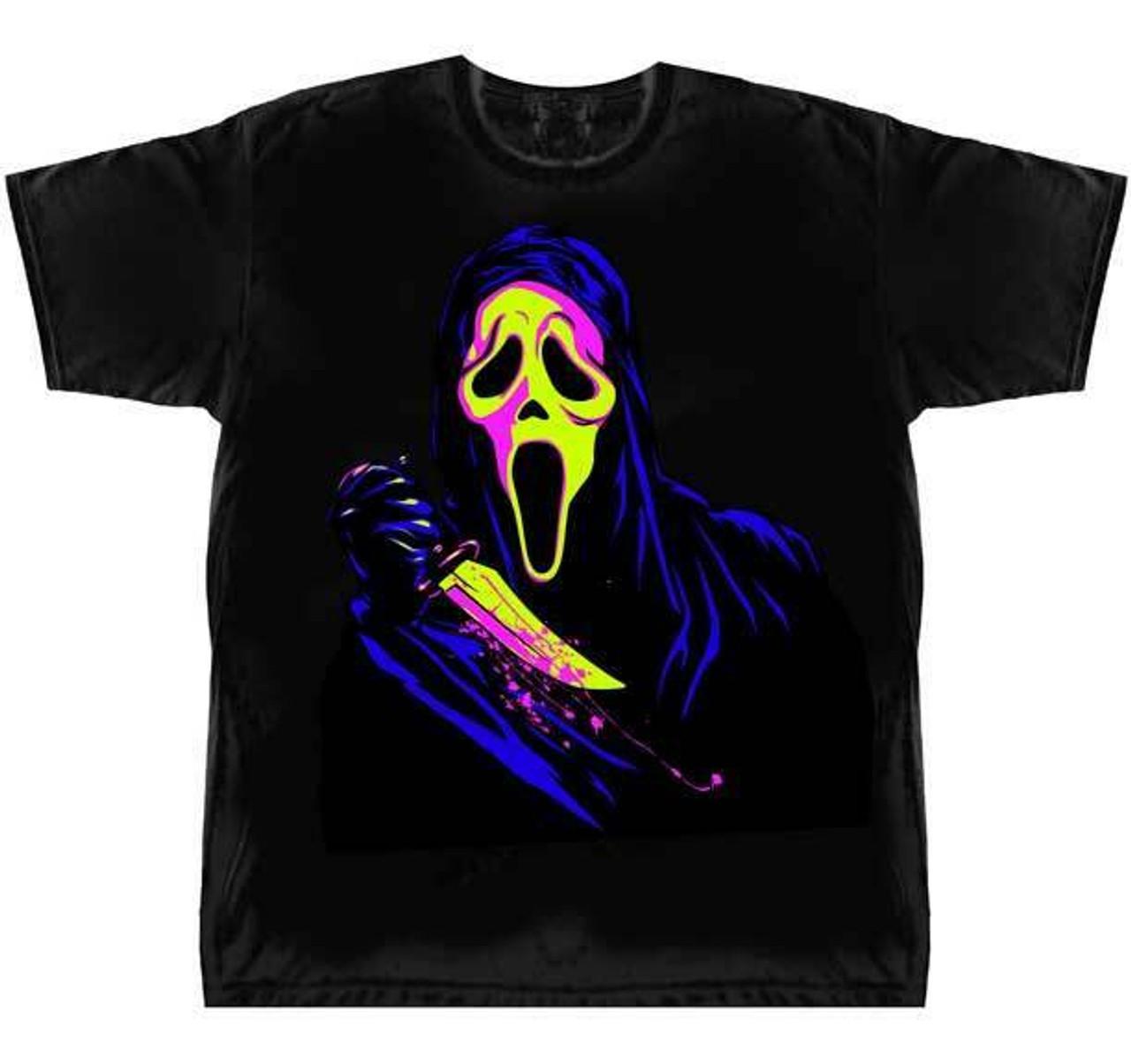 scary goth rock horror Halloween T Shirt Men/'s or Unisex Skull design