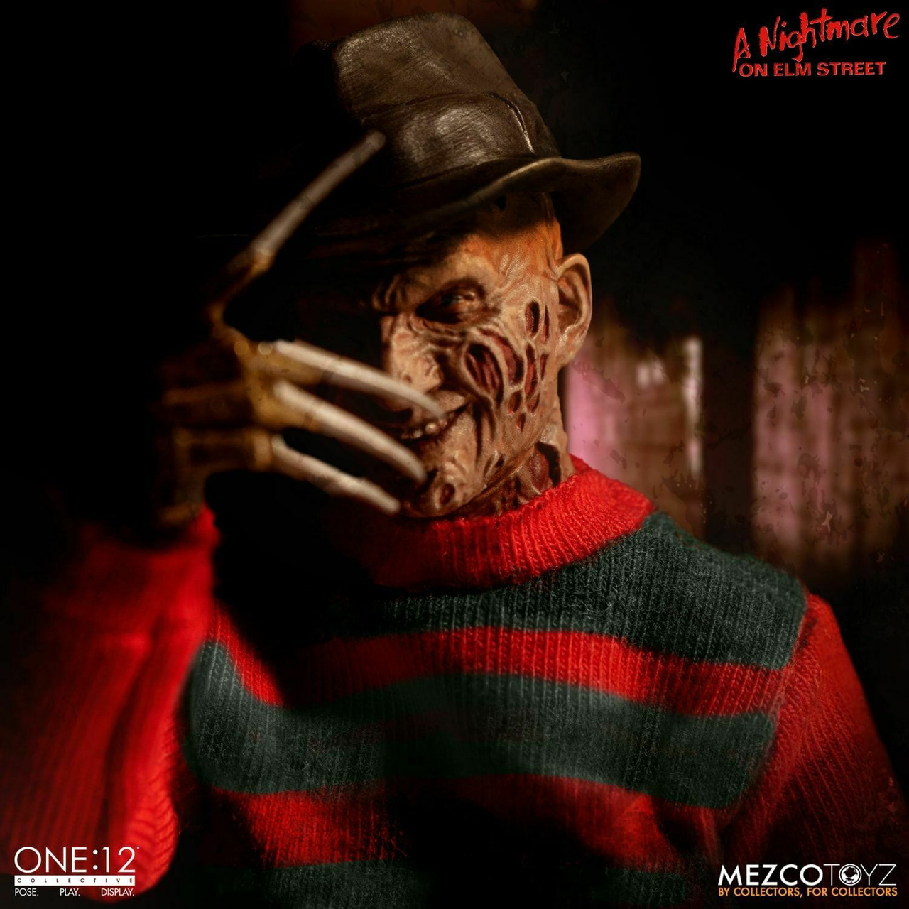Mezco Toyz A Nightmare on Elm Street Freddy Krueger One:12 Horreur Figure 77390