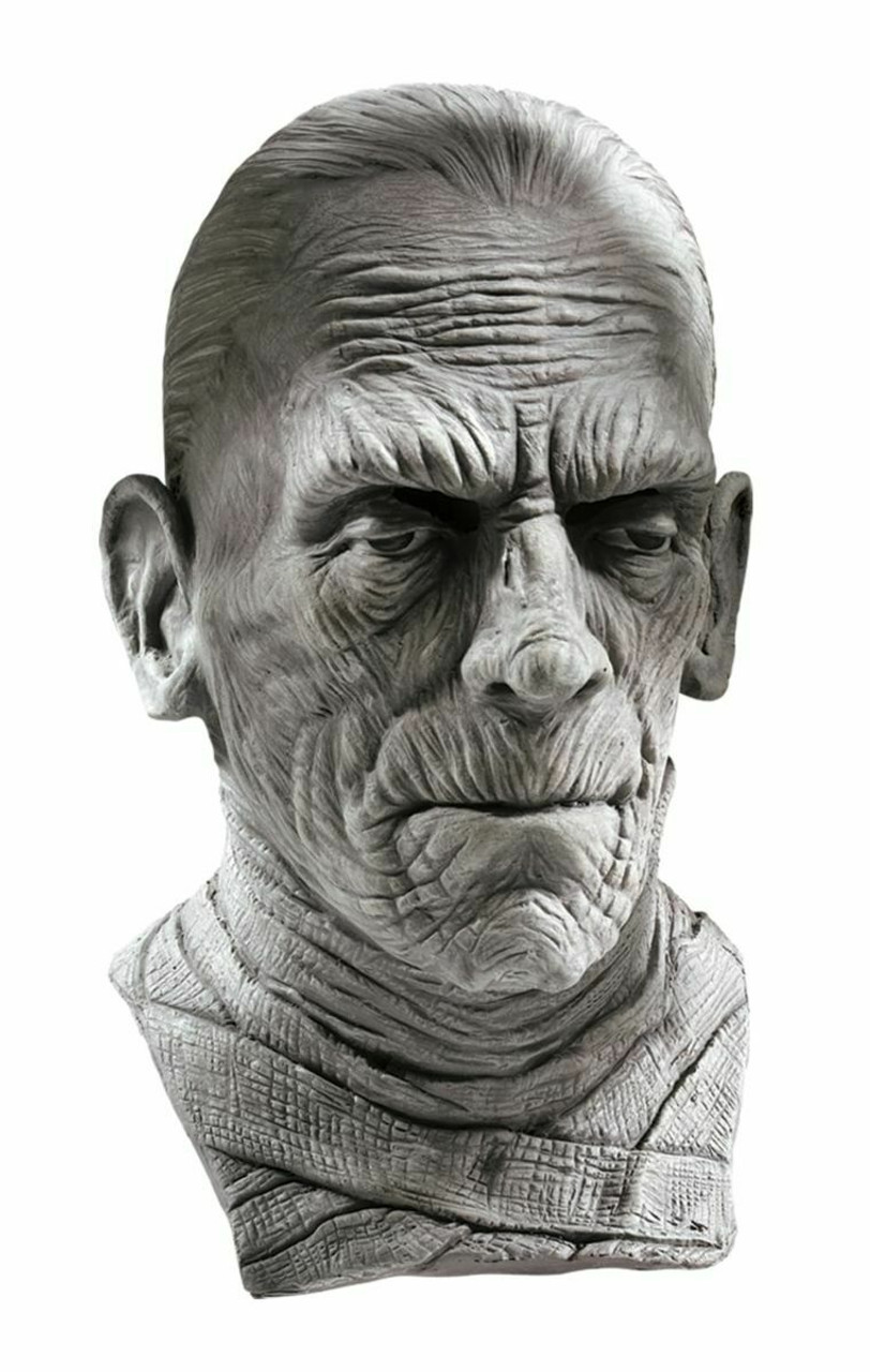 Rubies Universal Monsters The Mummy Latex Mask Adult Halloween Costume 67134 Fearless Apparel