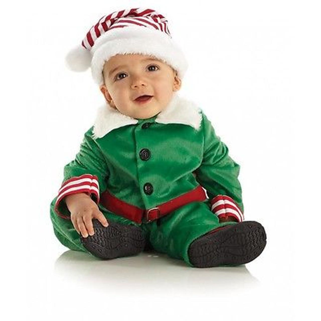Underwraps Elf Holiday Santa Claus Christmas Xmas Toddler Baby Costume 26040