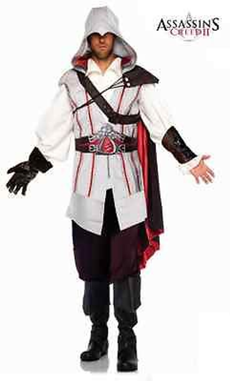 Assassins Creed Ezio Auditore Brotherhood Templar Halloween Costume Cosplay S Xl