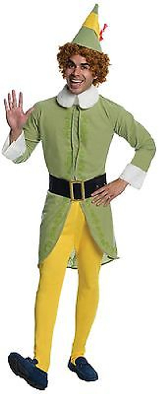 Rubies Buddy The Elf Movie Will Ferrell Christmas Holiday Xmas Santa Costume