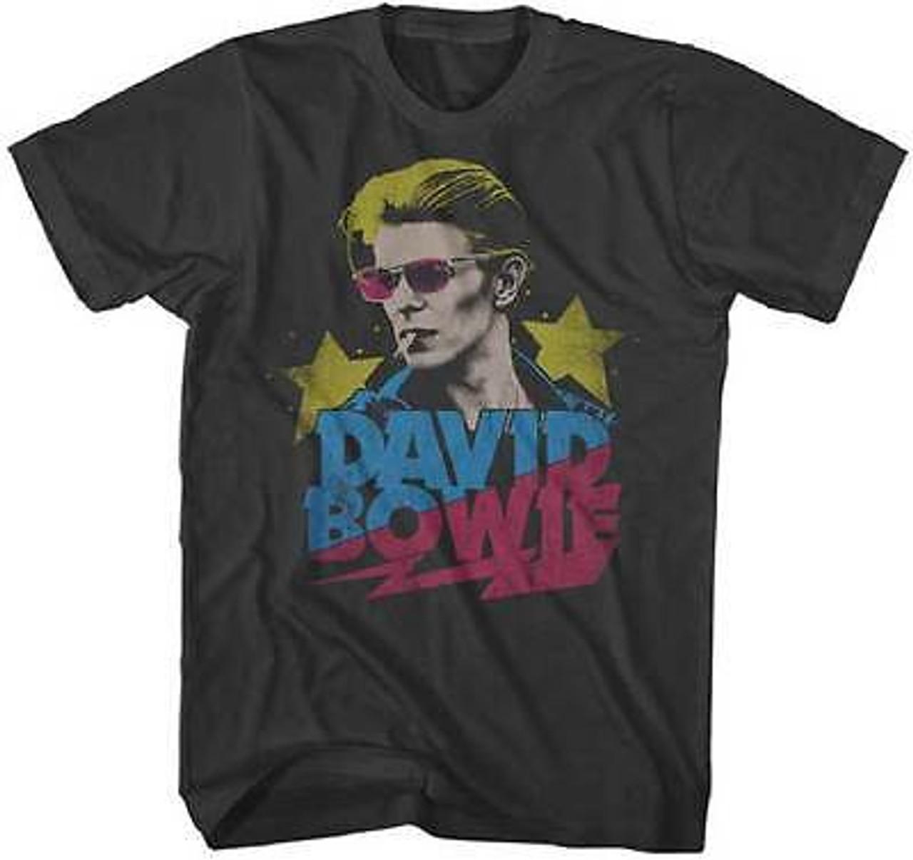 DAVID BOWIE RED SAX ZIGGY MEMORIAL BAND CLASSIC ROCK MUSIC T TEE SHIRT S-2XL
