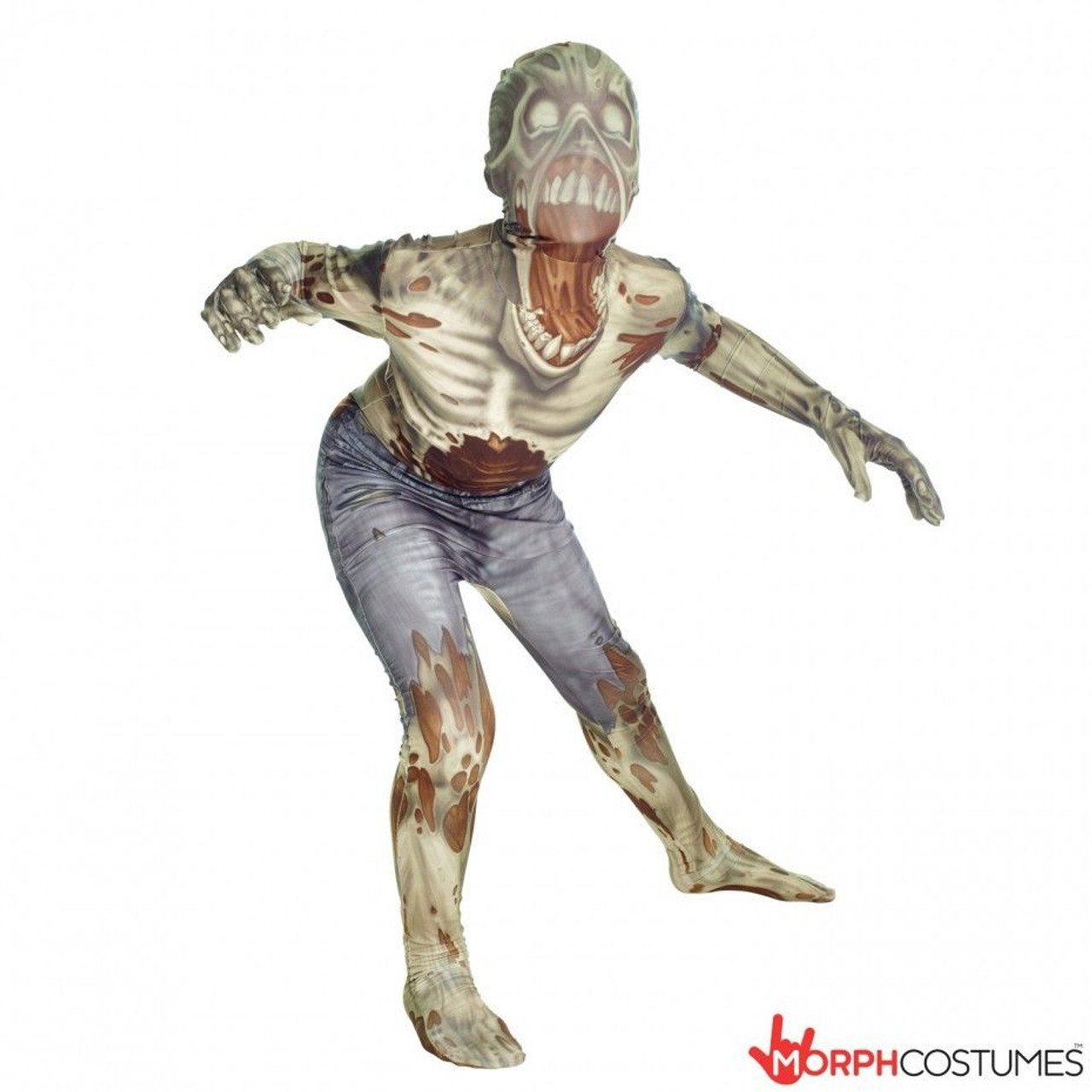Morphsuits Zombie Kids Monster Horror Scary Creepy Halloween Costume 78,0257