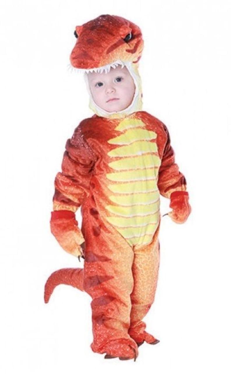Underwraps T-Rex TRex Fossil Dinosaur Halloween Child Toddlers Costume 26243
