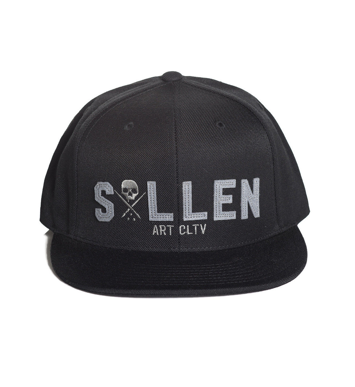 4e51bd337bb9f Sullen Art Collective Punched Tattoo Urban Goth Inked Snapback Hat Cap  SCA1058 - Fearless Apparel