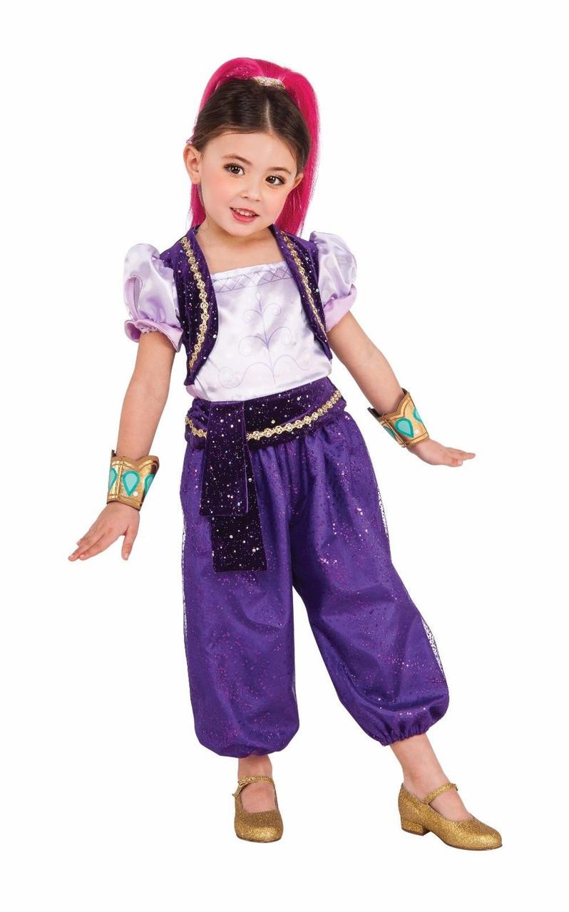 Rubies Shimmer /& Shine Cartoon Show Adventure Childrens Halloween Costume 620792