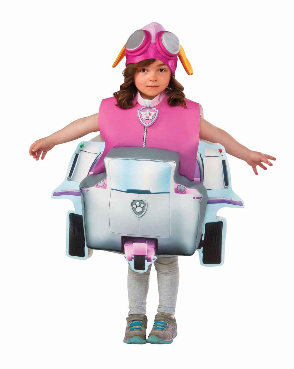 4e31182091709 Rubies Paw Patrol Skye Deluxe Helicopter Child Girls Halloween Costume  610838