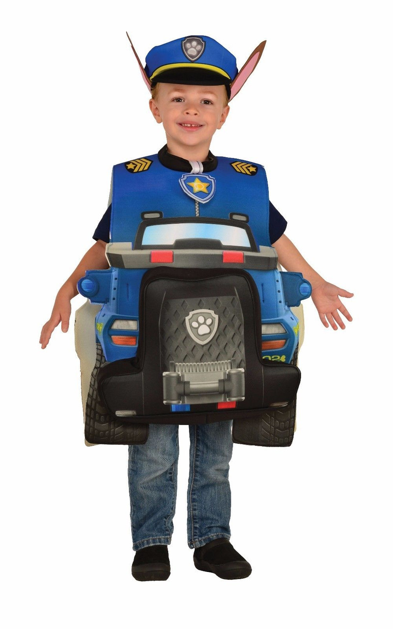 Rubies Paw Patrol Chase Deluxe Police Child Kids Boys Halloween Costume  610836