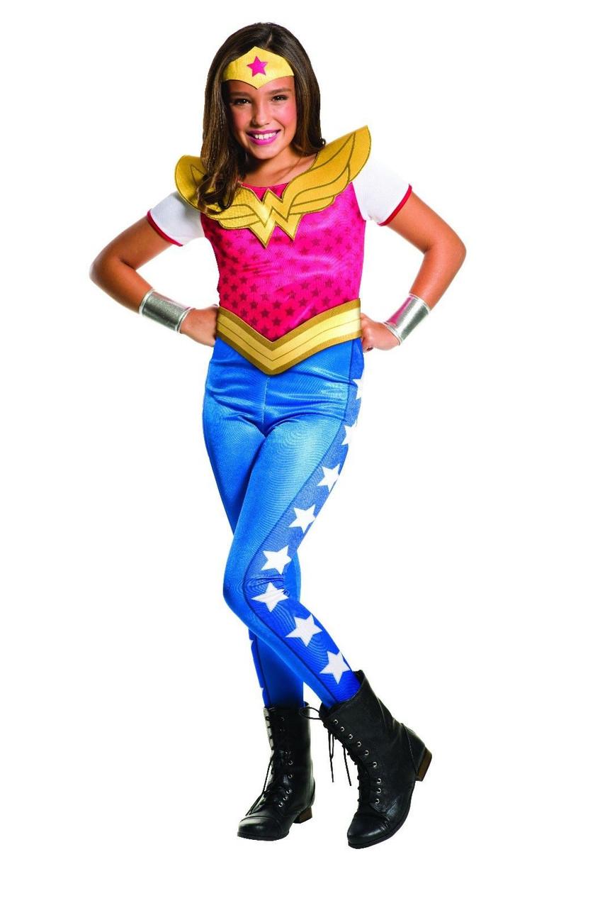 Wonder Woman Halloween Costume Kids.Rubies Wonder Woman Dc Comics Hero Child Kids Girls Halloween Costume 620743
