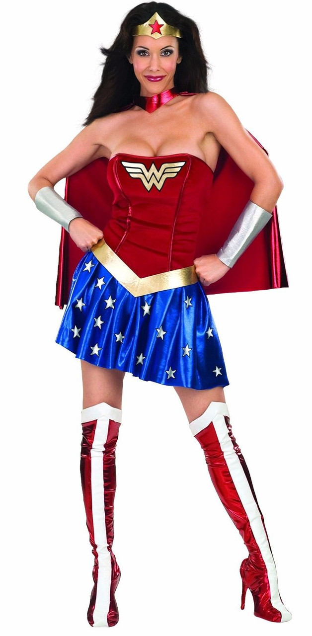 Rubies Secret Wishes Wonder Woman Movie DC Superhero Womens Halloween Costume