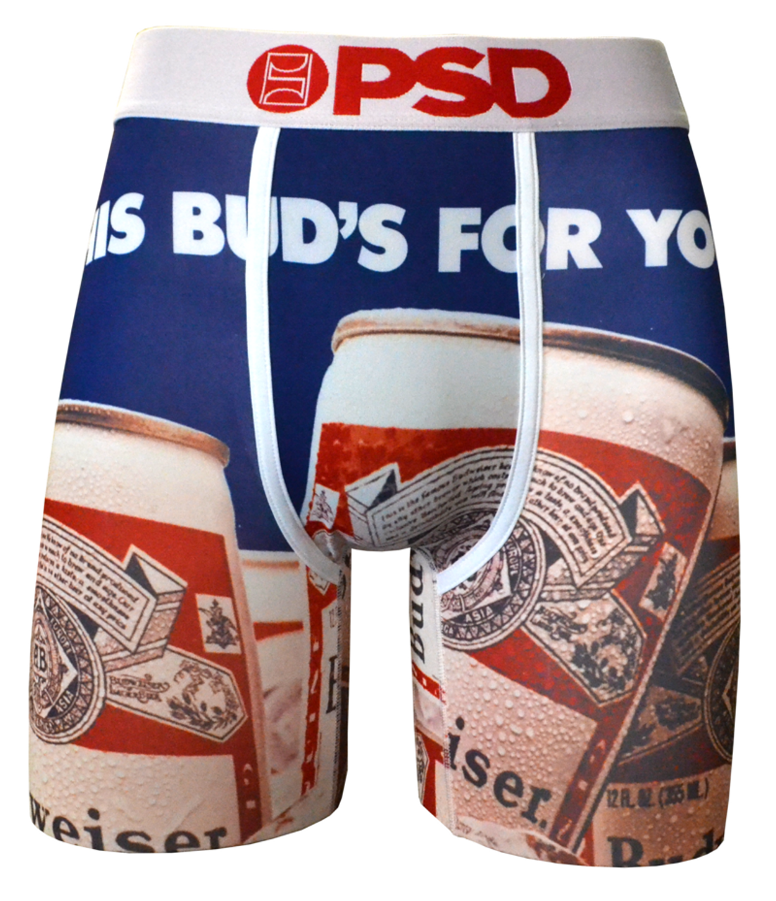 a23be73409967 PSD Underwear This Ones For You Budweiser Beer Alcohol Men Boxer Briefs  21710017