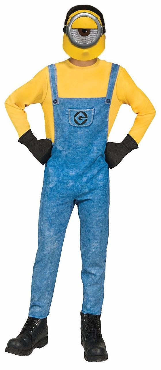 Minions Halloween Costume.Rubies Mel Minions Despicable Me 3 Movie Childrens Boys Halloween Costume 630726