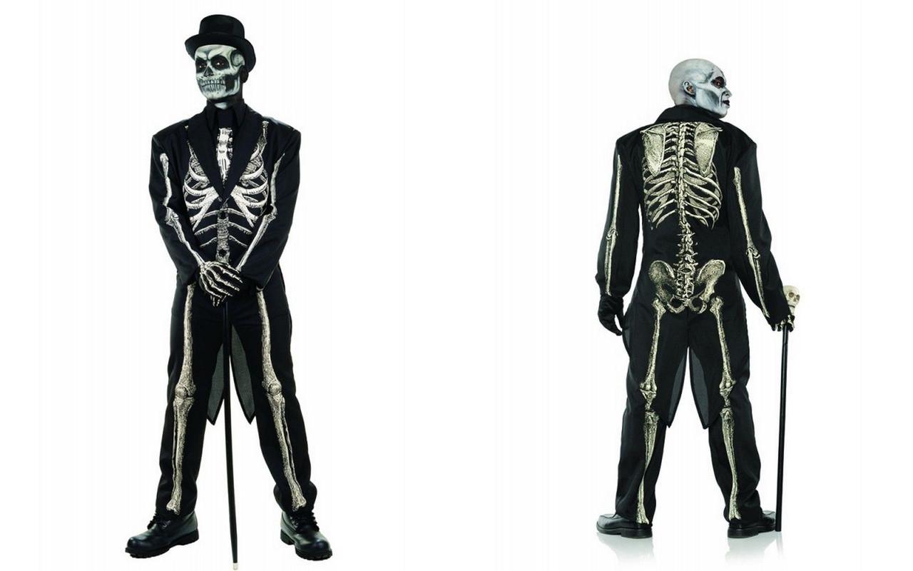 Fun World Lacy Bones Sugar Skull Skeleton Adult Womens Halloween Costume 115594