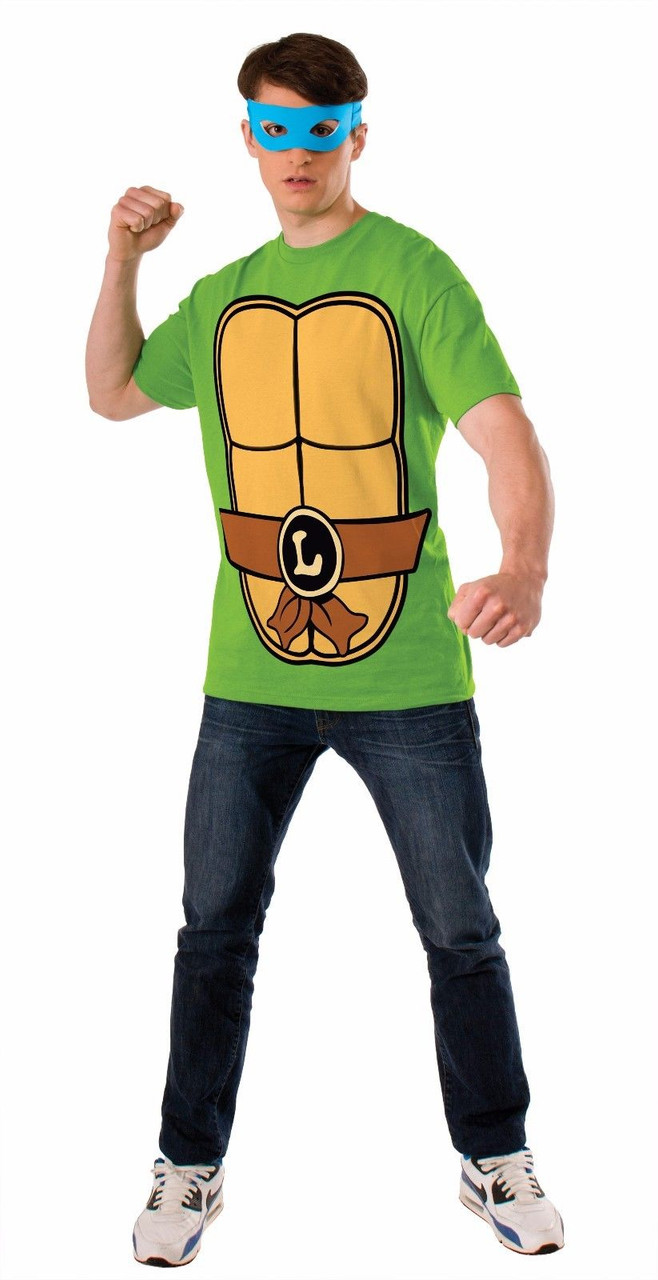 Ninja Halloween Costume Men.Rubies Tmnt Leonardo Teenage Mutant Ninja Turtle Adult Men Halloween Costume
