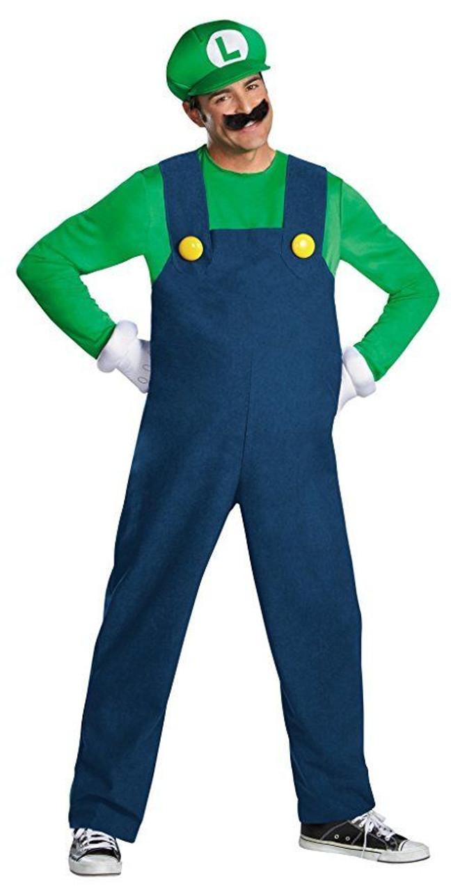 Super Mario Mario Deluxe Adult Halloween Costume
