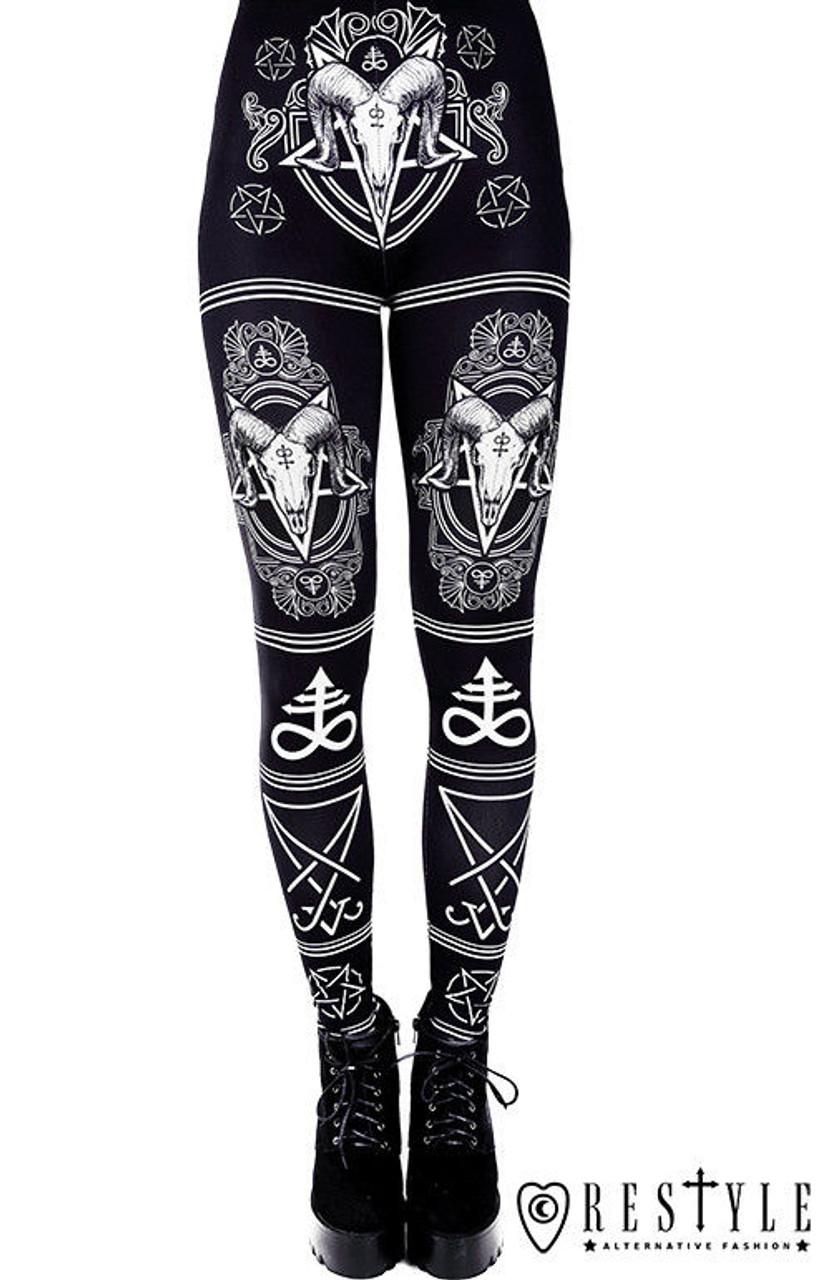 Anarchy Apparel Hot Pants Monochrome