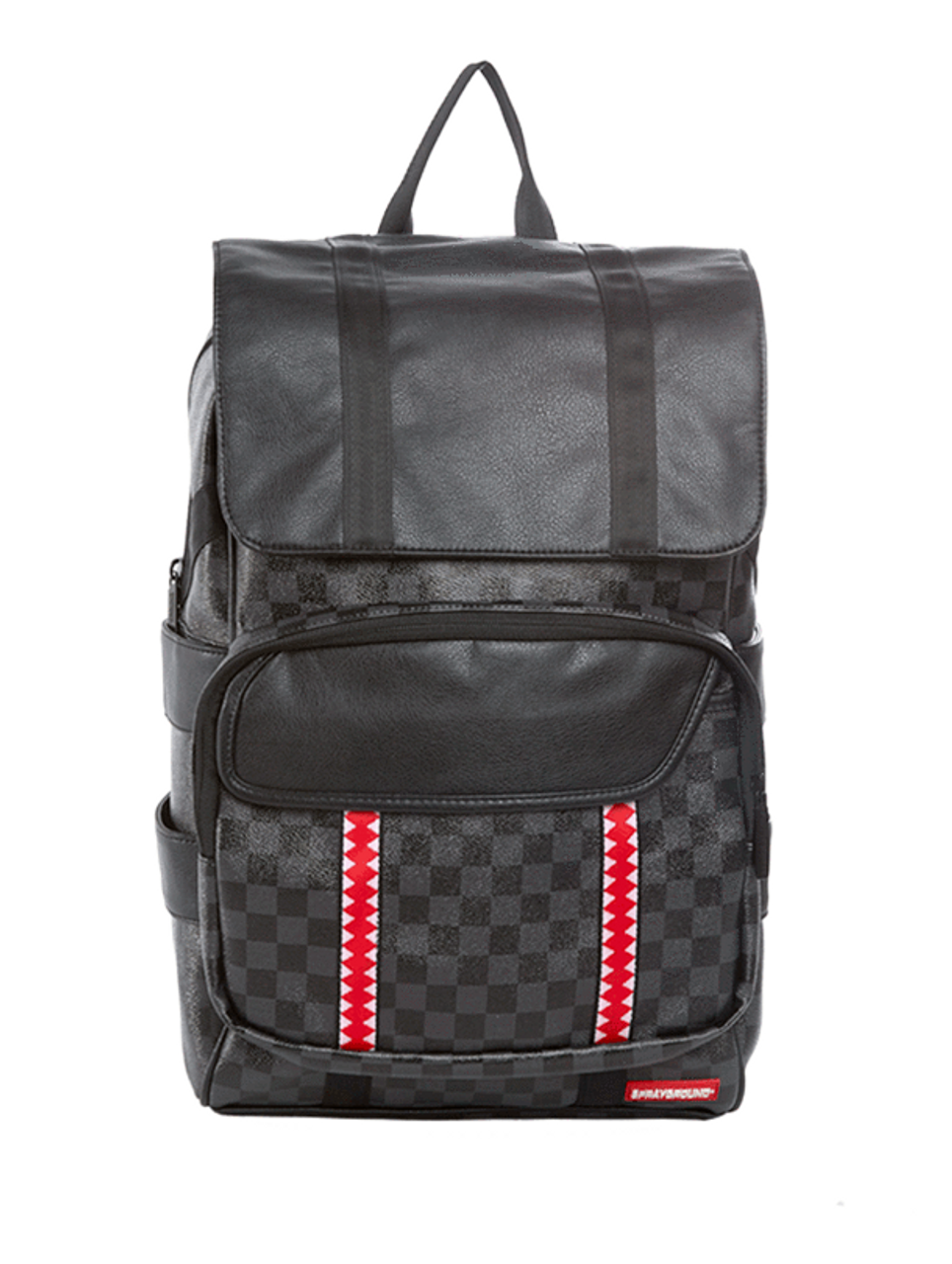 3602c161ce3c Sprayground Sharks In Paris Black Damier Pattern Rucksack Backpack  910B1318NSZ - Fearless Apparel