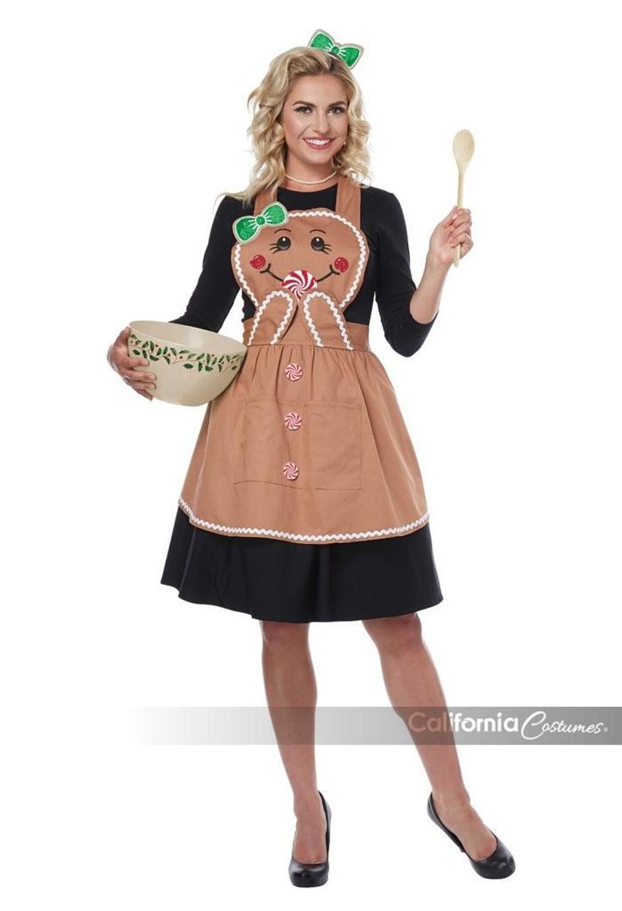 California Costume New Sassy Santa Christmas Adult Costume 01492