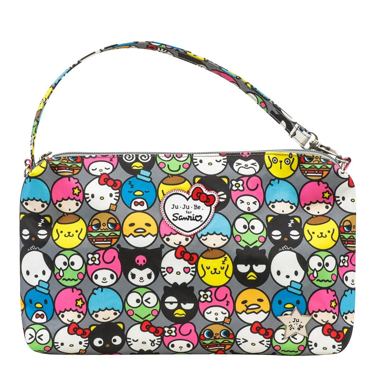 b71174fe9 Ju-Ju-Be Sanrio Hello Kitty Be Quick Hello Friends Handbag Purse ...
